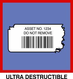 Destructibel Stickers